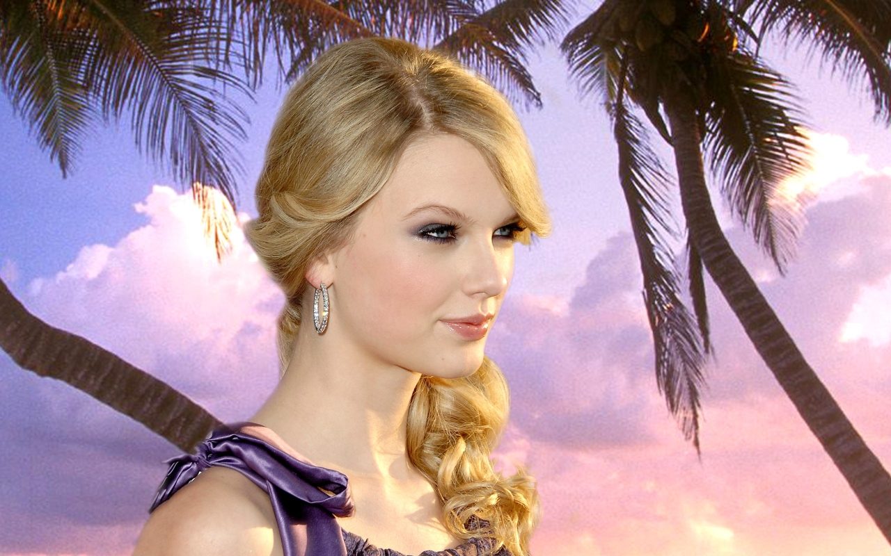 Taylor Swift rostro - 1280x800