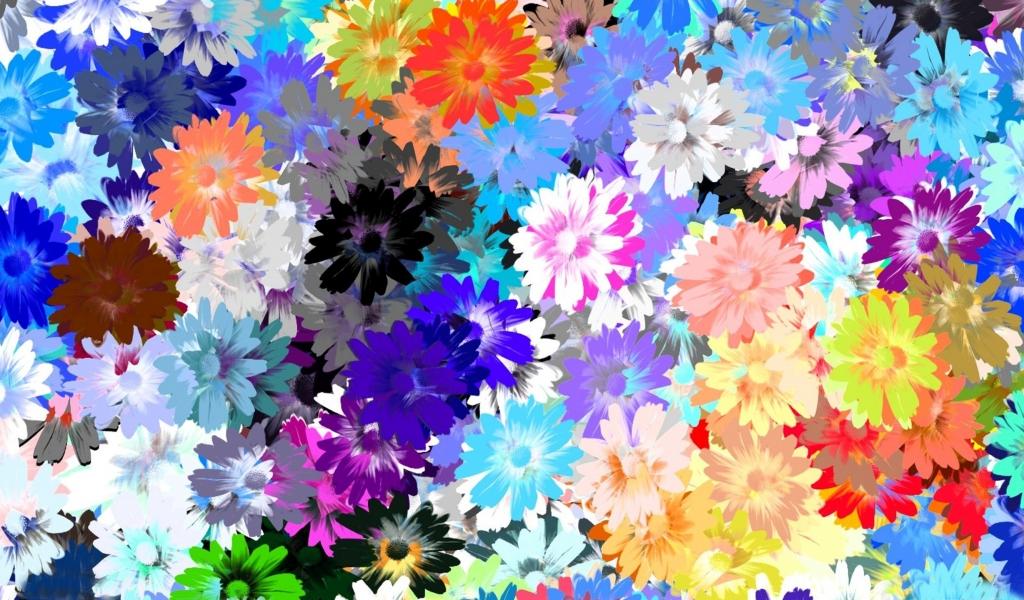 Textura de flores - 1024x600