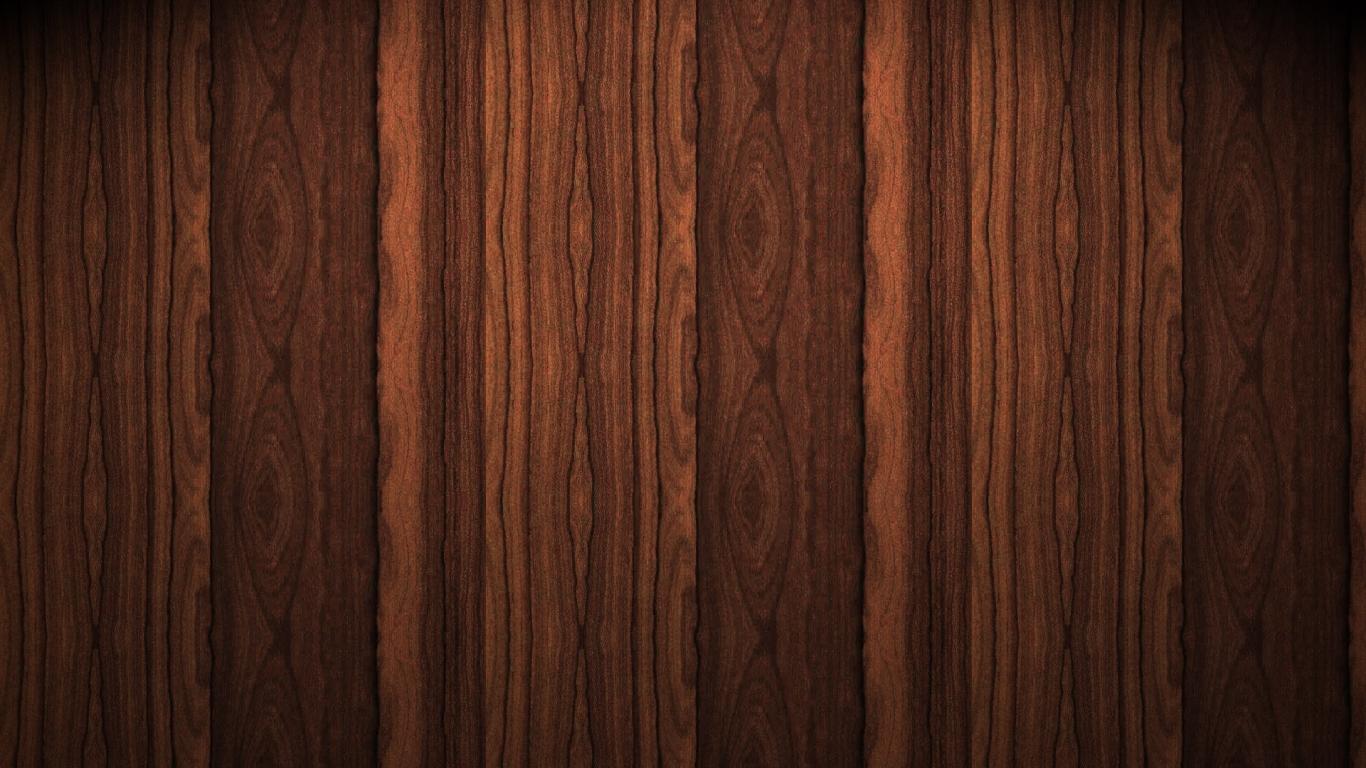 Textura De Madera Oscura Hd 1366x768