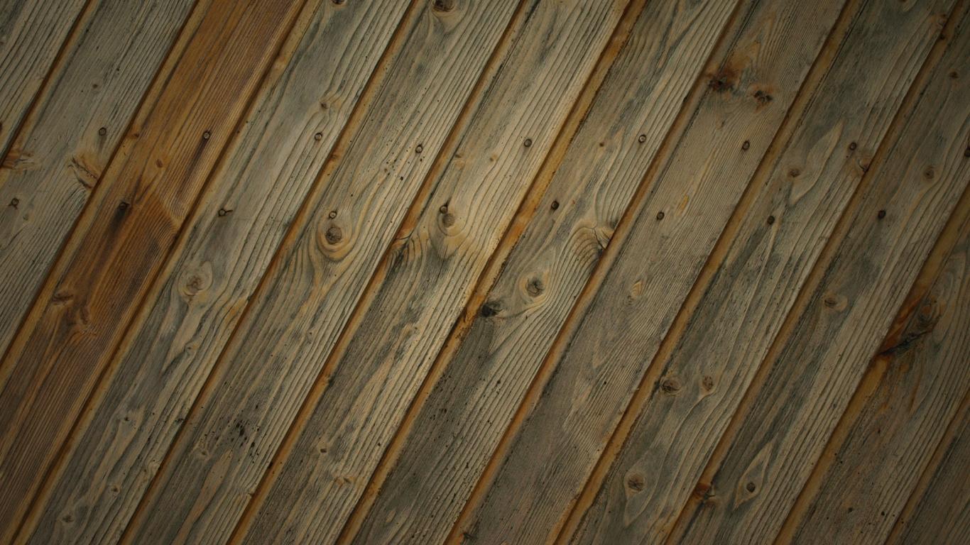 Textura de tablas de madera - 1366x768