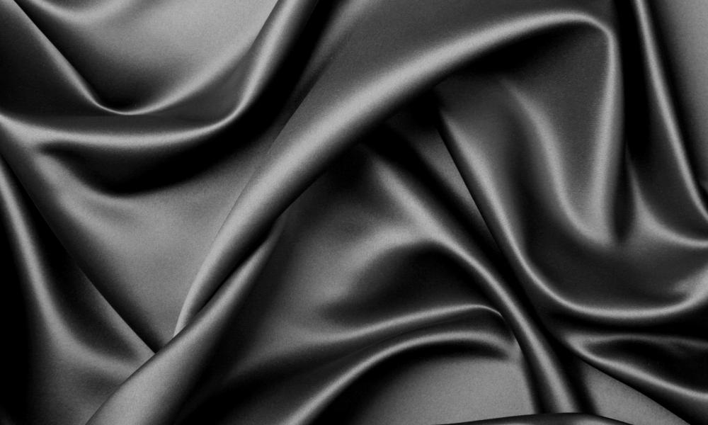 Textura de tela negra - 1000x600