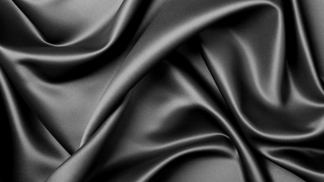 Textura de tela negra - 1366x768