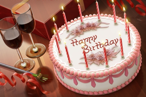 Tortas de cumpleaños - 480x320