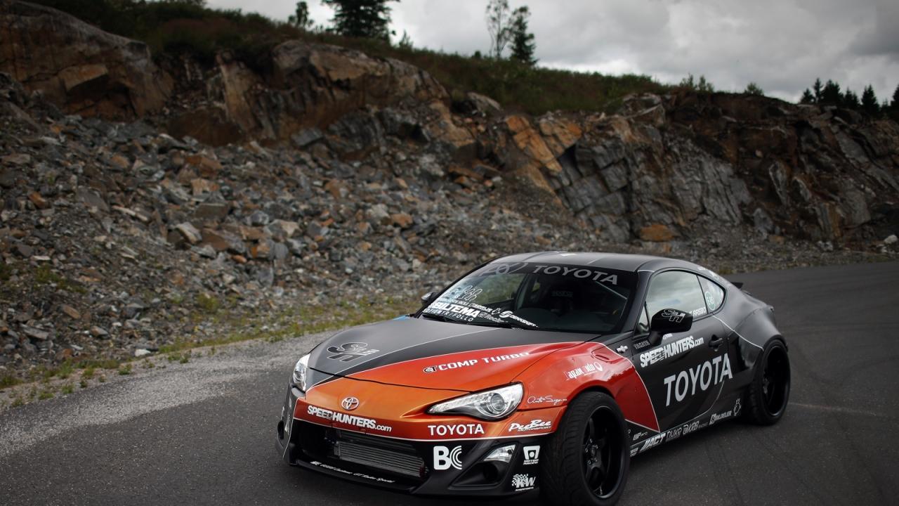 Toyota 86-X - 1280x720