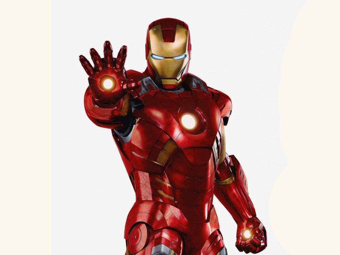 Traje de Iron Man - 1152x864
