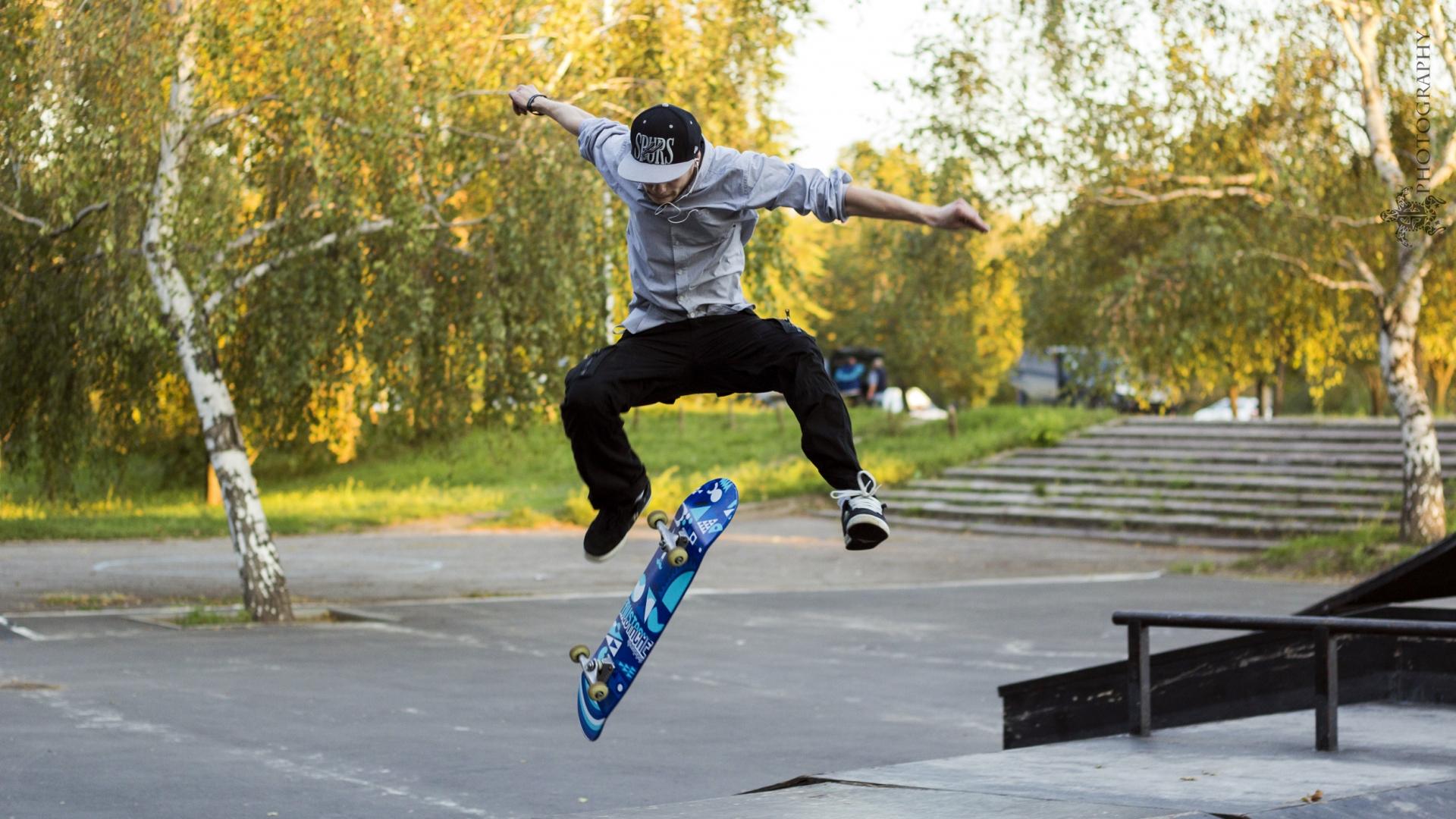 Trucos con skate - 1920x1080