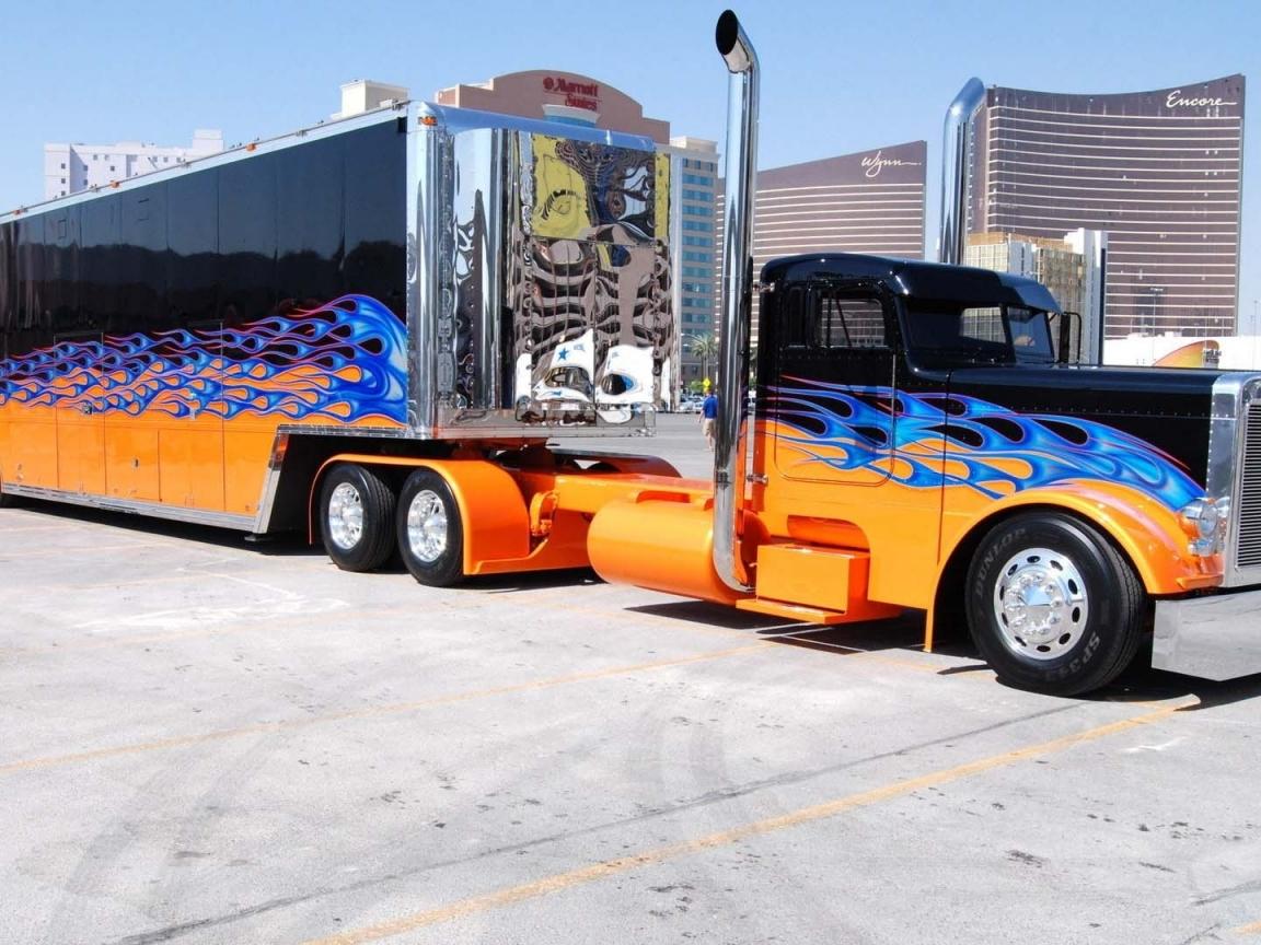 Autos Camiones Fondos De Pantalla Gratis: Tunning En Camiones Hd 1152x864