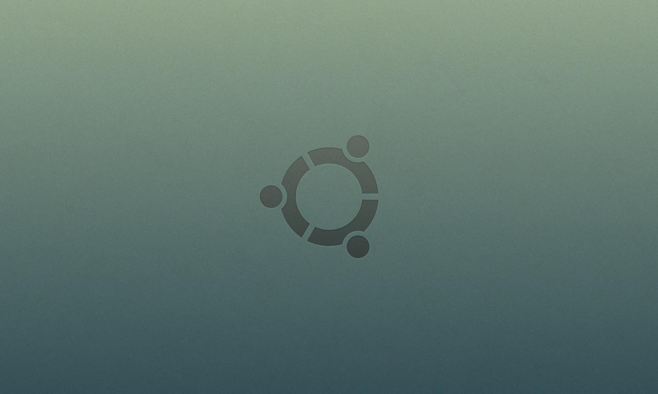 Ubuntu logo - 1280x768