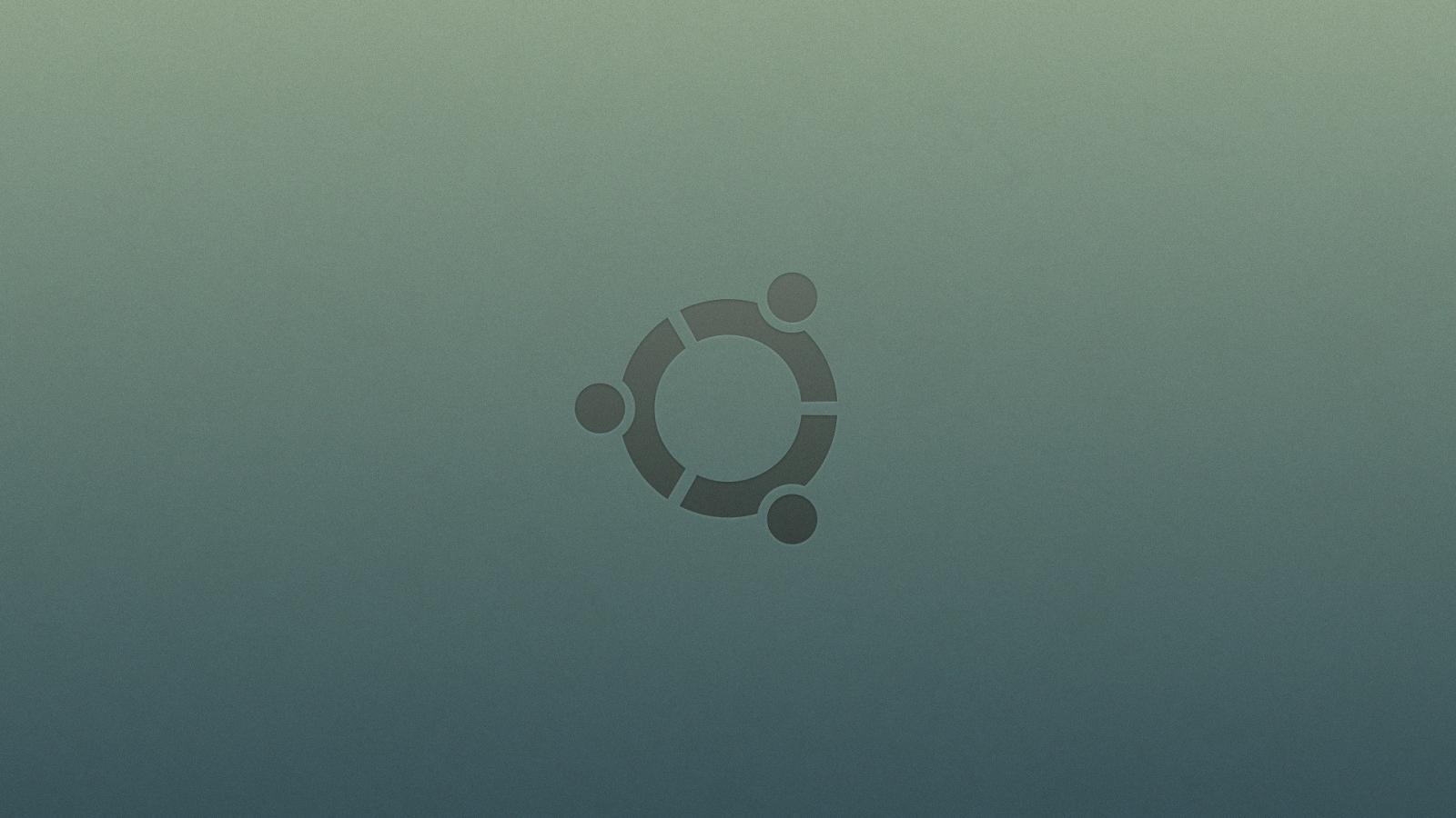 Ubuntu logo - 1600x900