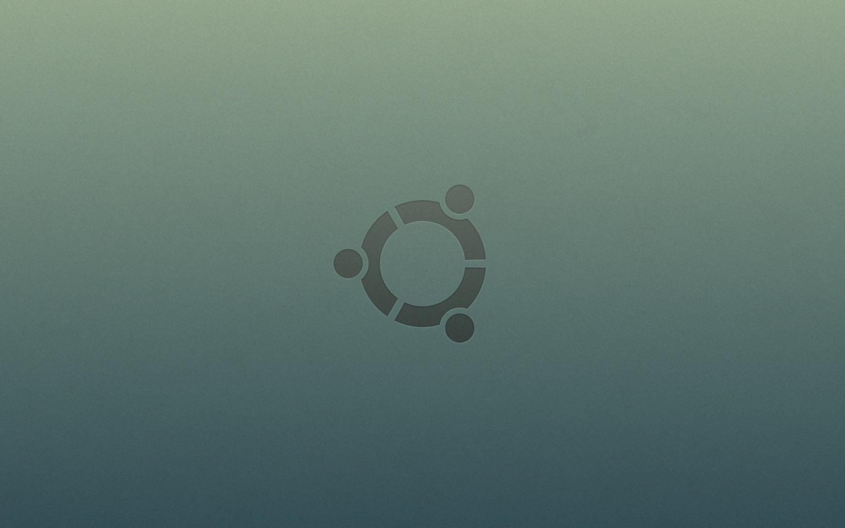 Ubuntu logo - 1680x1050