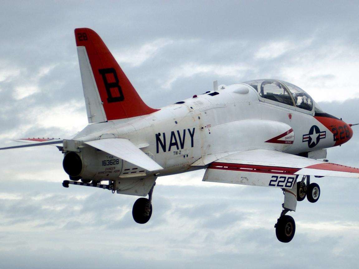 Un Avión de los Navy - 1152x864