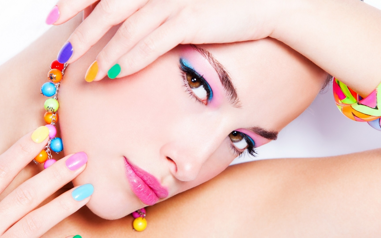 Uñas de colores , 1280x800