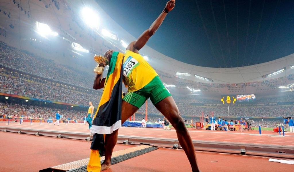 Usain Bolt en los juegos - 1024x600