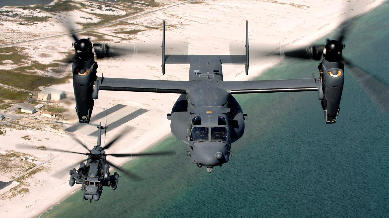 V-22 Osprey - 1280x720