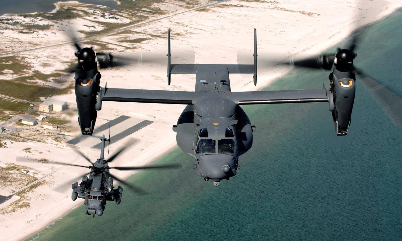 V-22 Osprey - 1280x768