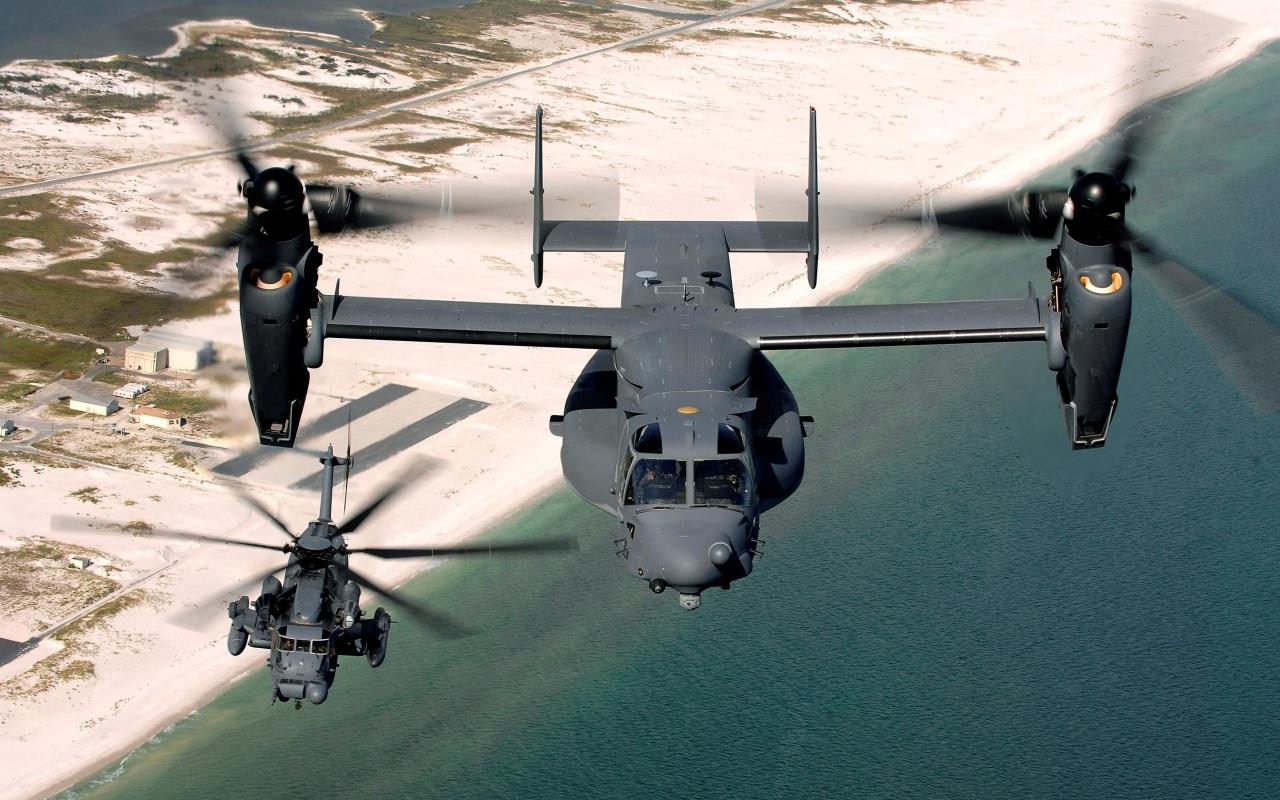 V-22 Osprey - 1280x800
