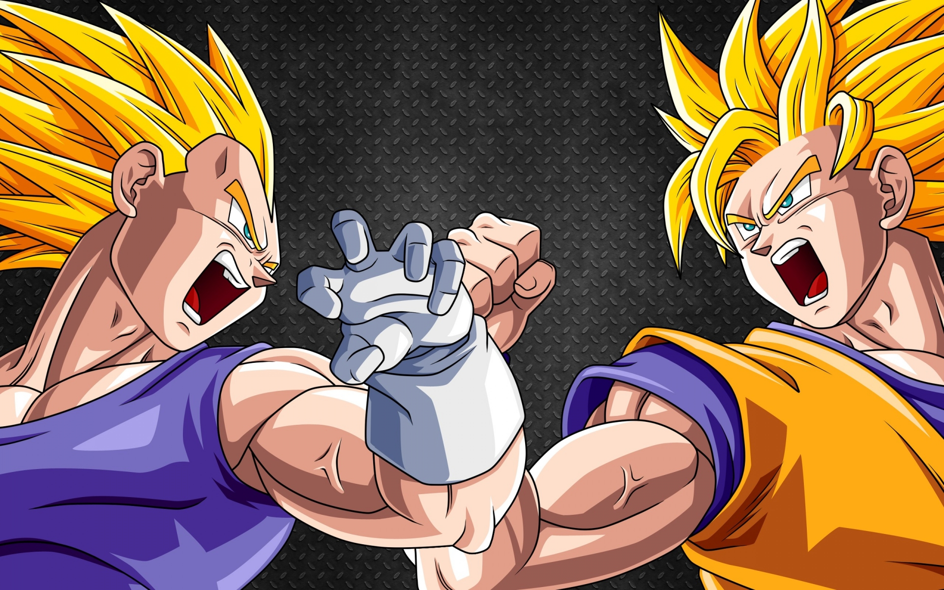 on how goku and vegeta should look like as gods and not have both of ...
