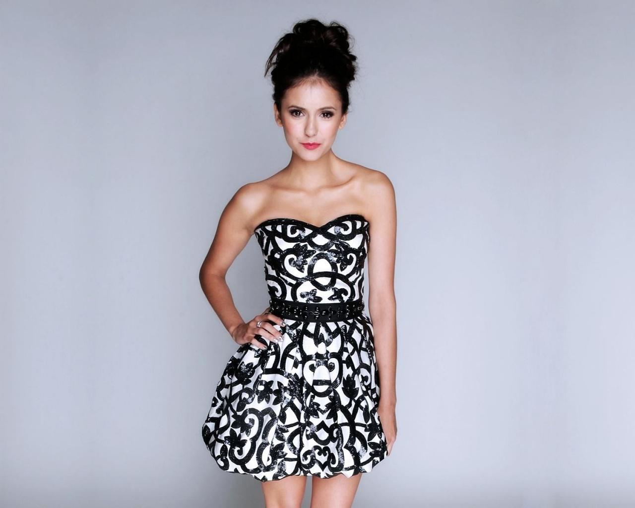 Vestido blanco y negro - 1280x1024