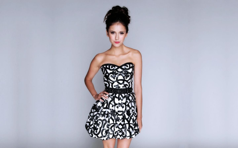 Vestido blanco y negro - 1440x900