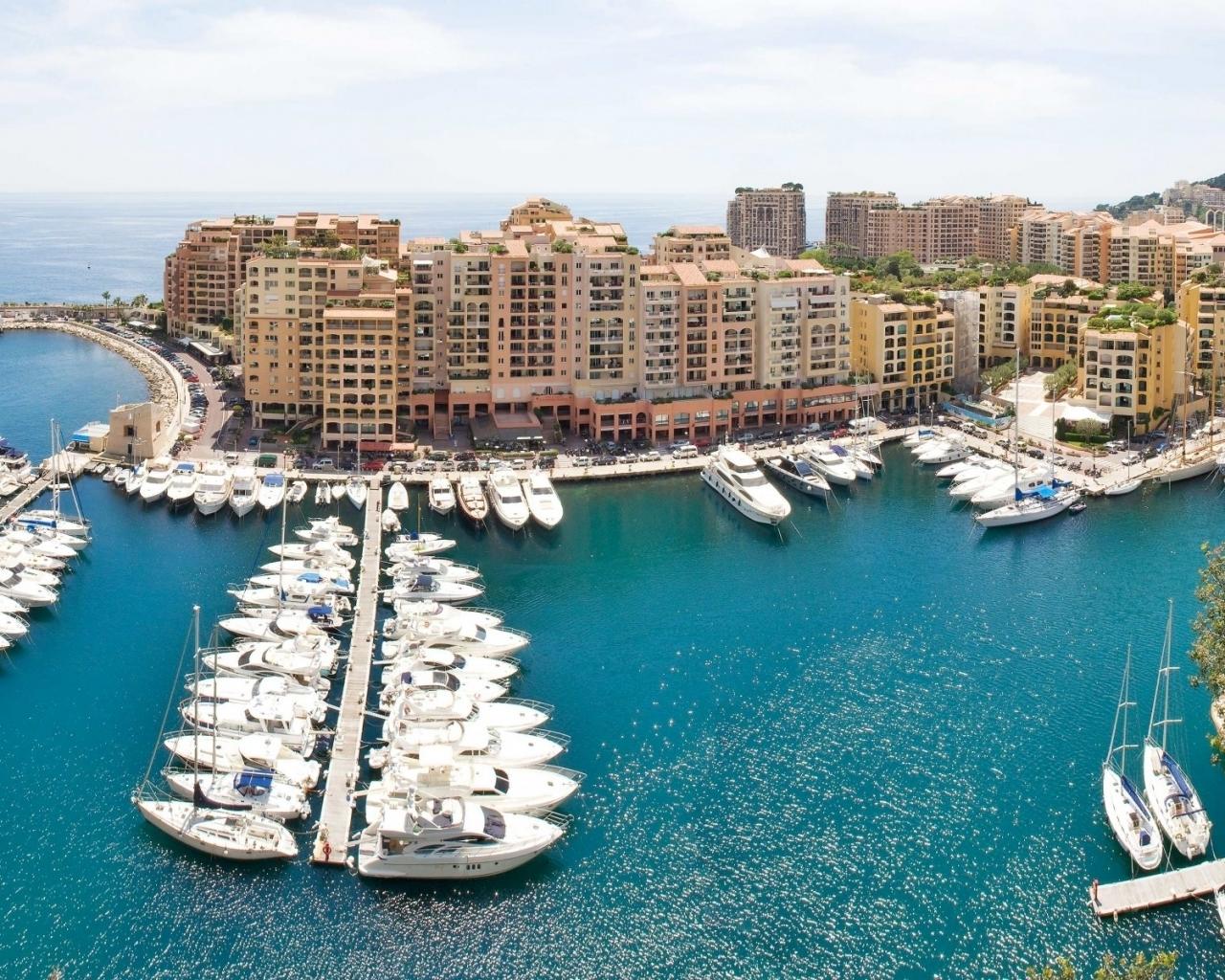 Villa de Monaco - 1280x1024