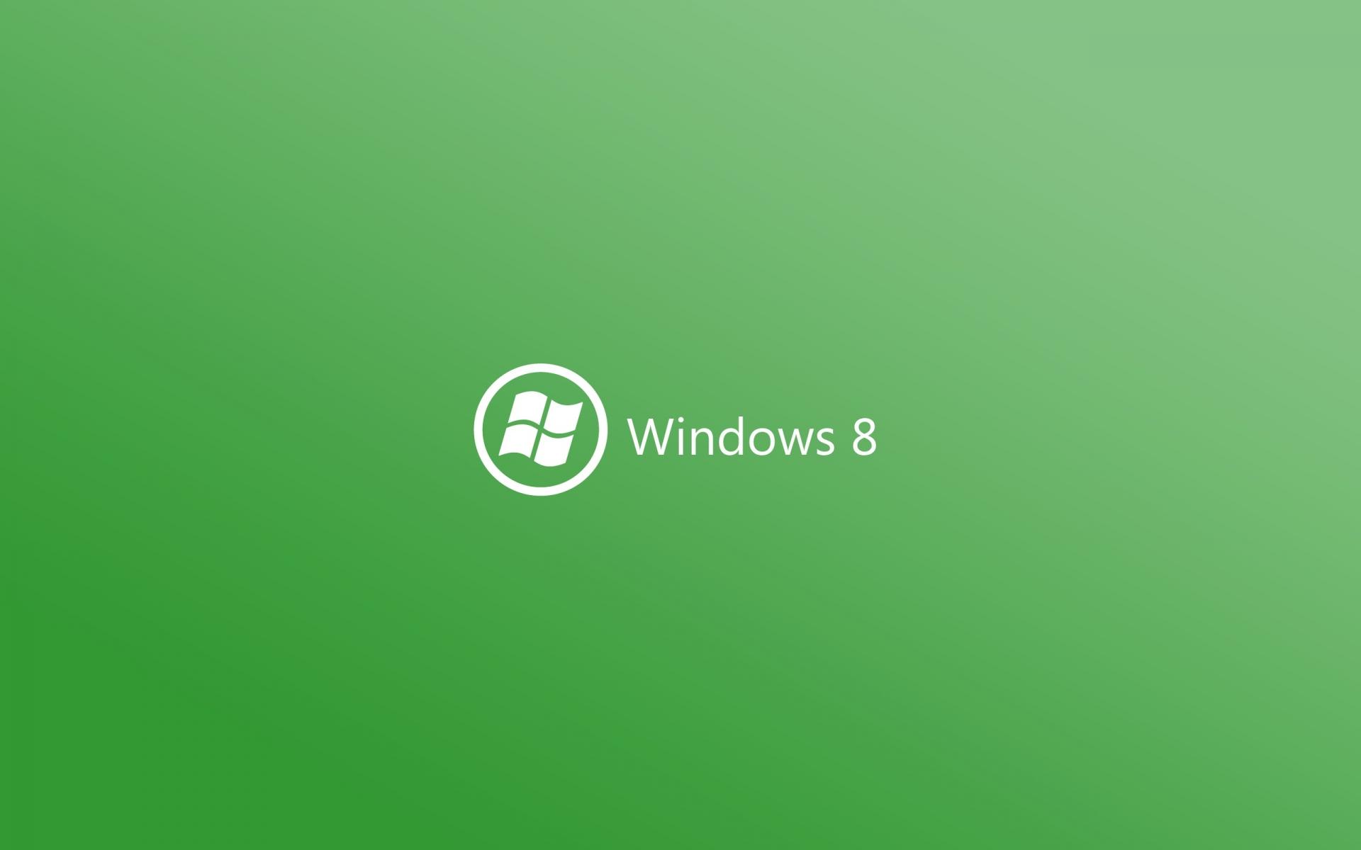 Windows 8 verde - 1920x1200