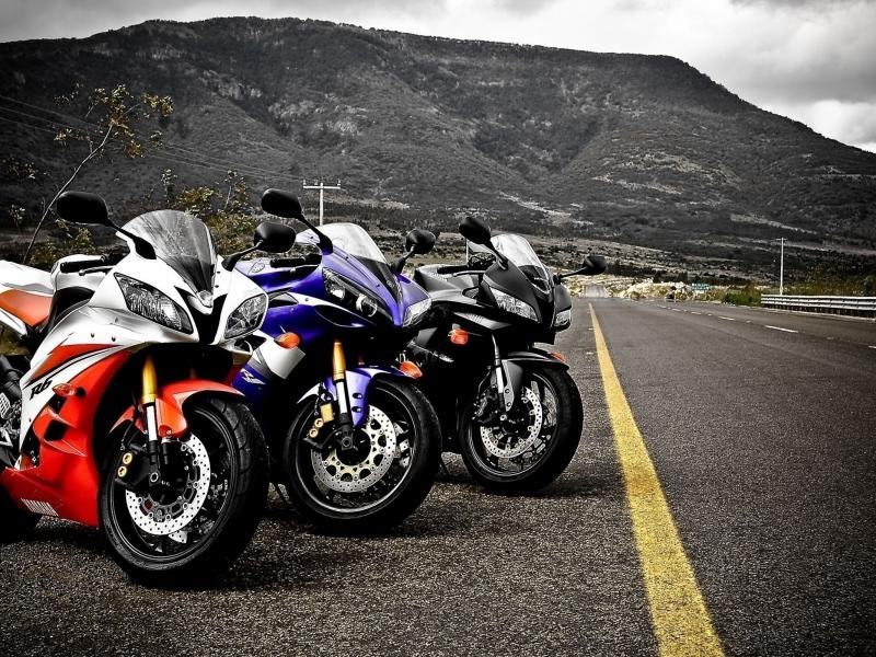 Yamaha R1 Y Honda CBR Hd 800x600