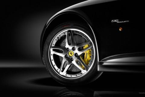 Aros y llante de auto Ferrari - 480x320