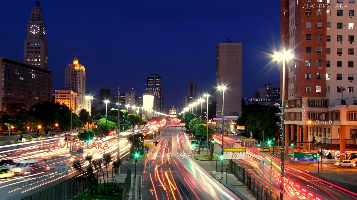 Avenida Presidente Vargas - 1366x768