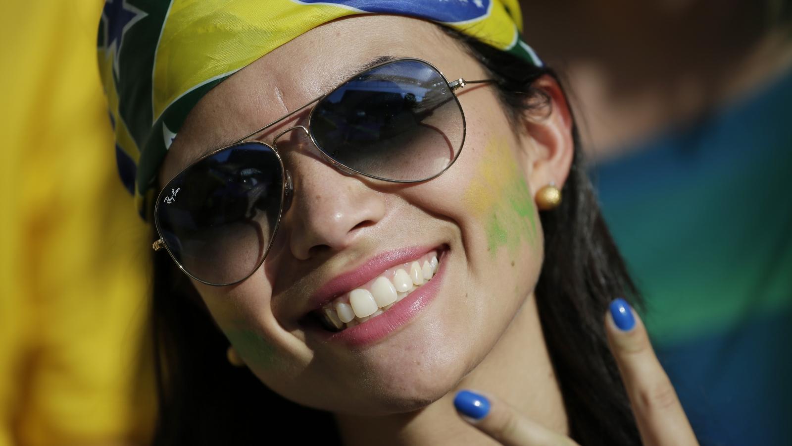 Bellas Brasileñas en el Mundial - 1600x900