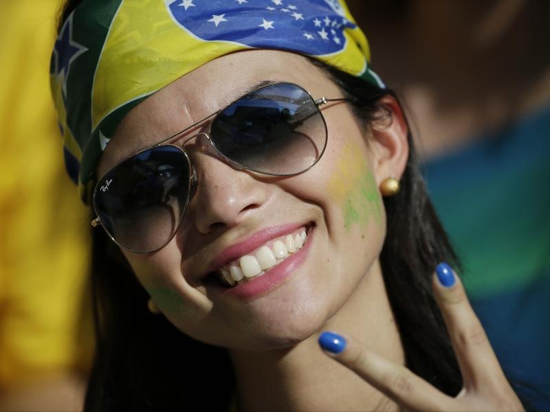 Bellas Brasileñas en el Mundial - 800x600