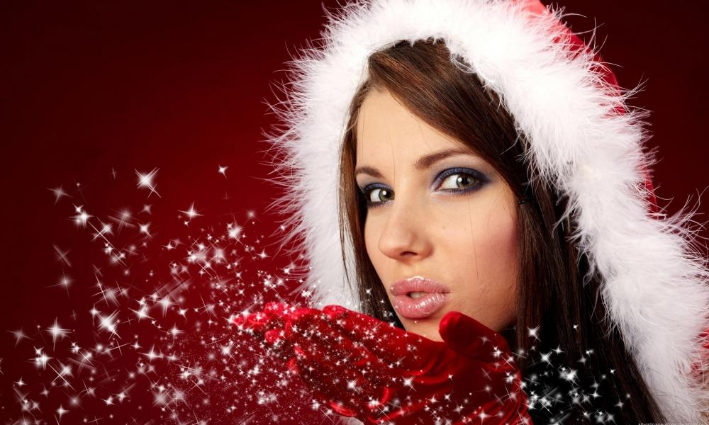 Bellas mujeres en navidad - 1000x600