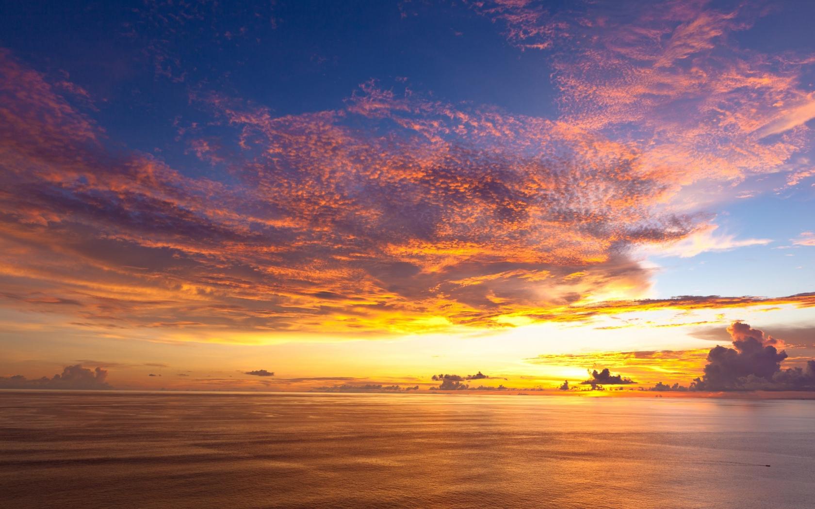 Bellas puestas de sol - 1680x1050