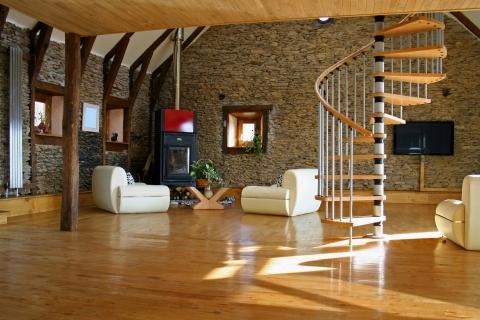 Bellos acabados interiores de casas - 480x320