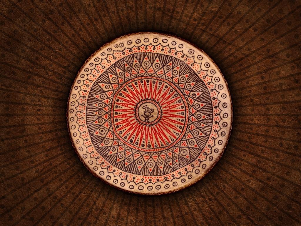 Circulos y formas abstractas - 1024x768