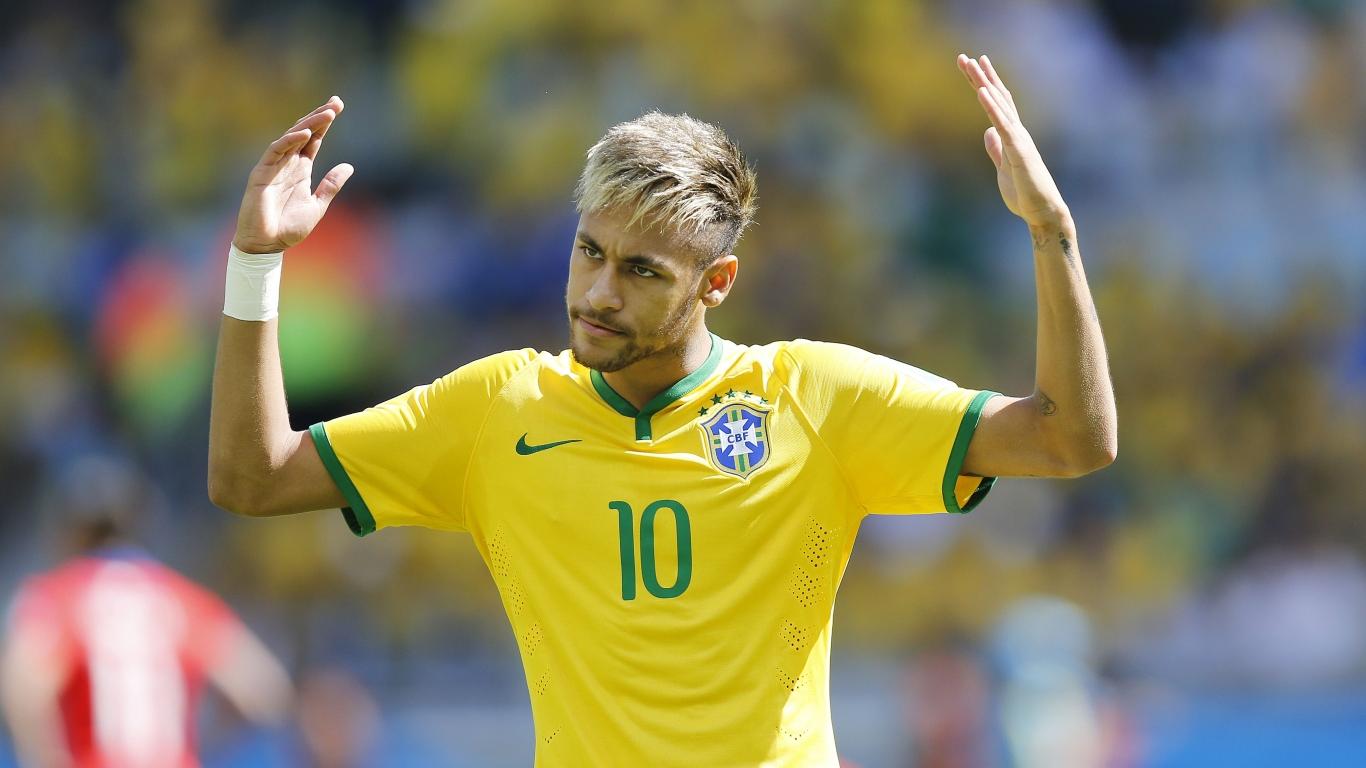 Corte de pelo de Neymar - 1366x768
