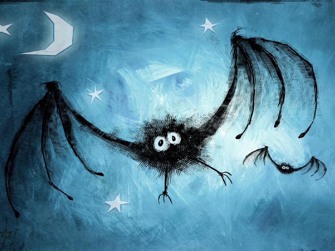 Dibujo de murcielagos - 1152x864