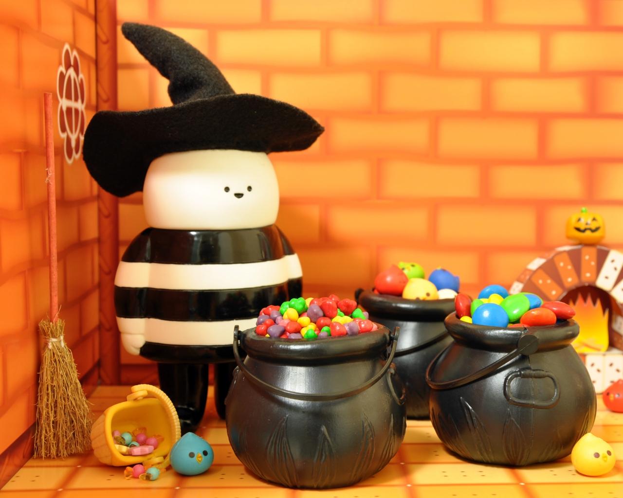 Dulces para Halloween - 1280x1024