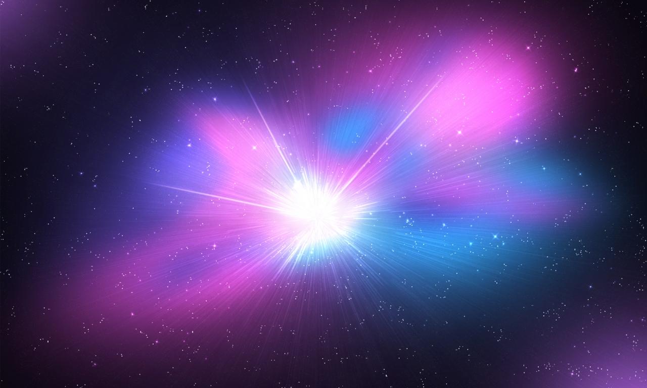 El espacio y galaxias - 1280x768
