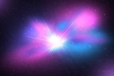 El espacio y galaxias - 480x320