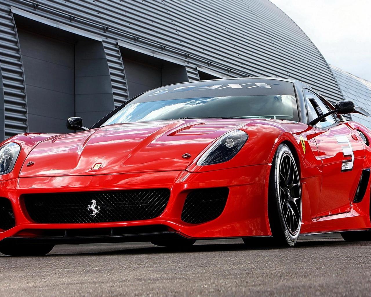 El Ferrari Rojo - 1280x1024