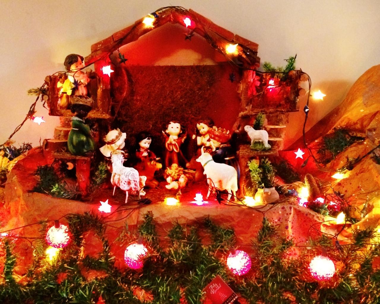 El Nacimiento de Jesus - 1280x1024