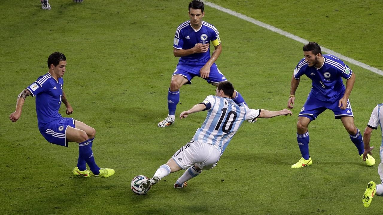 Gol de Messi a Bosnia - 1280x720