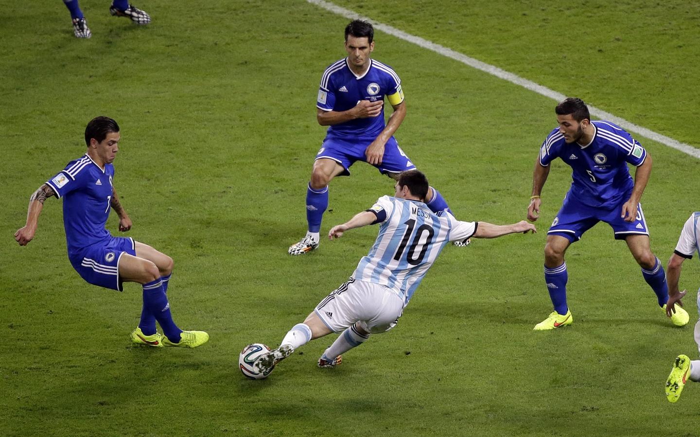Gol de Messi a Bosnia - 1440x900