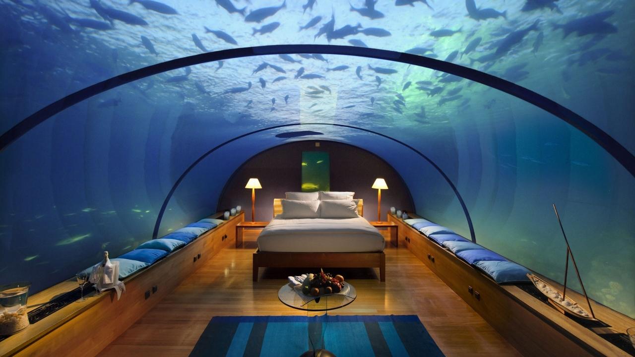 Habitacion con panorama acuatico - 1280x720