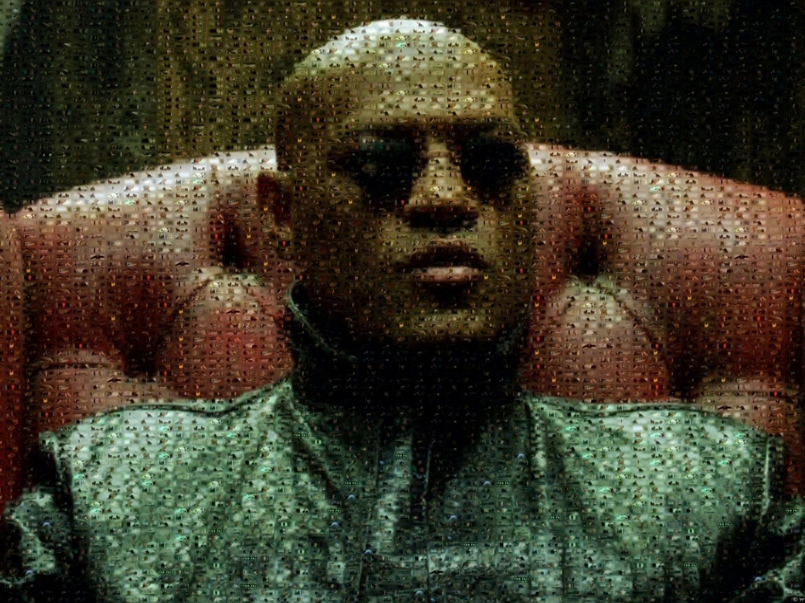 Laurence Fishburne Matrix Morpheus - 1152x864