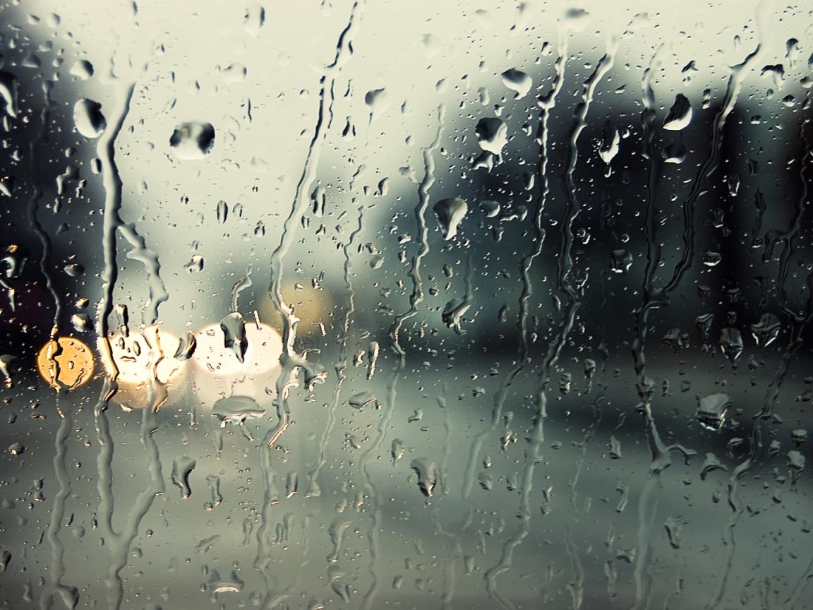 Lluvia en parabrisas - 1152x864