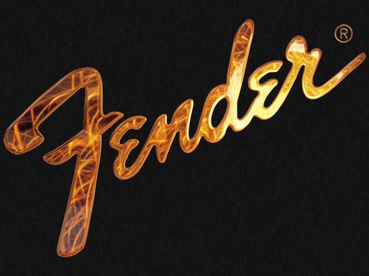 Logo de Fender en 3D - 1280x960