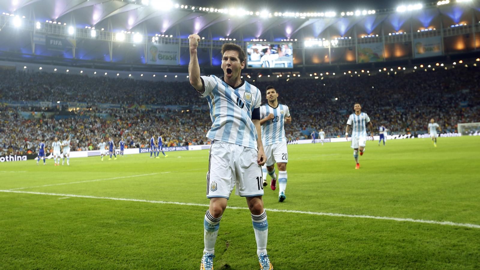 Messi tras ganar a Bosnia - 1600x900