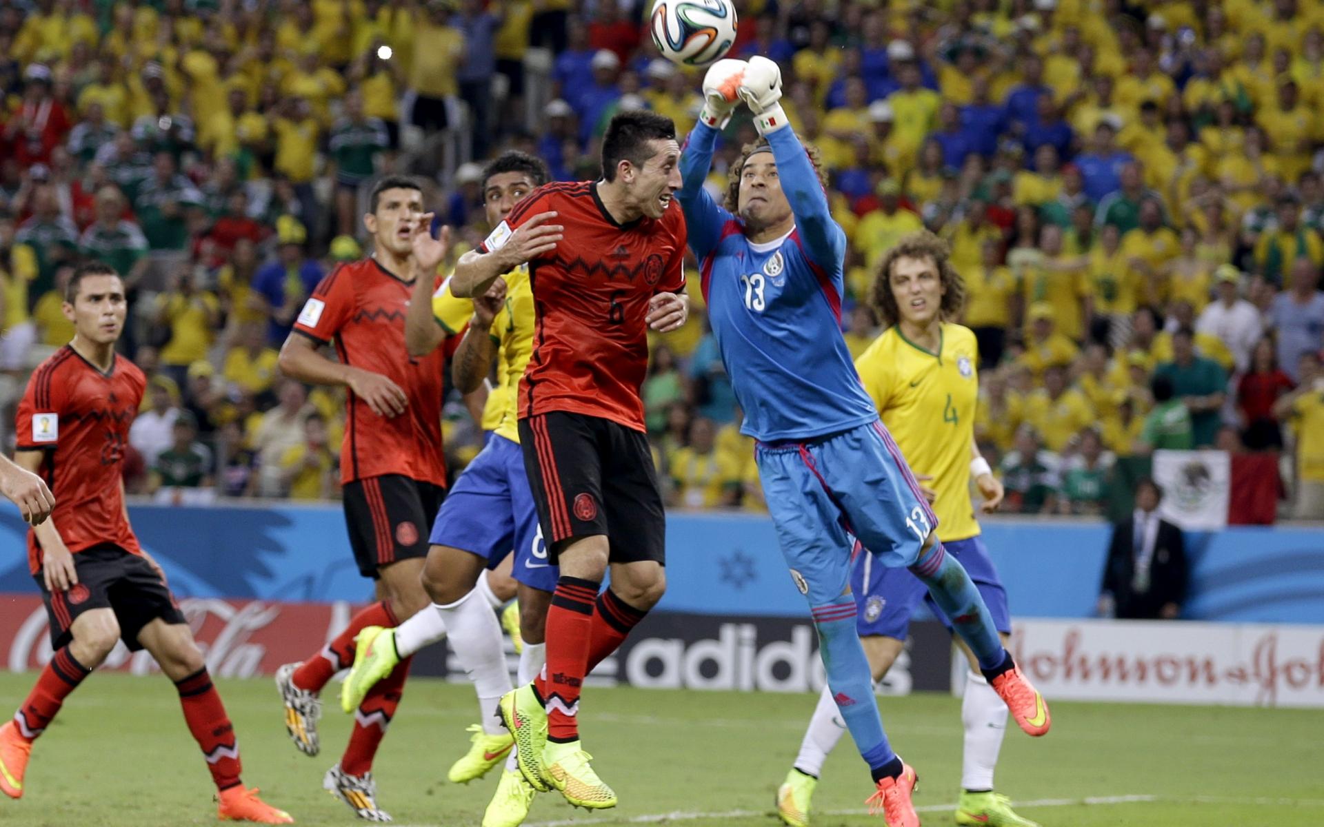 Mexico VS Brasil 2014 - 1920x1200