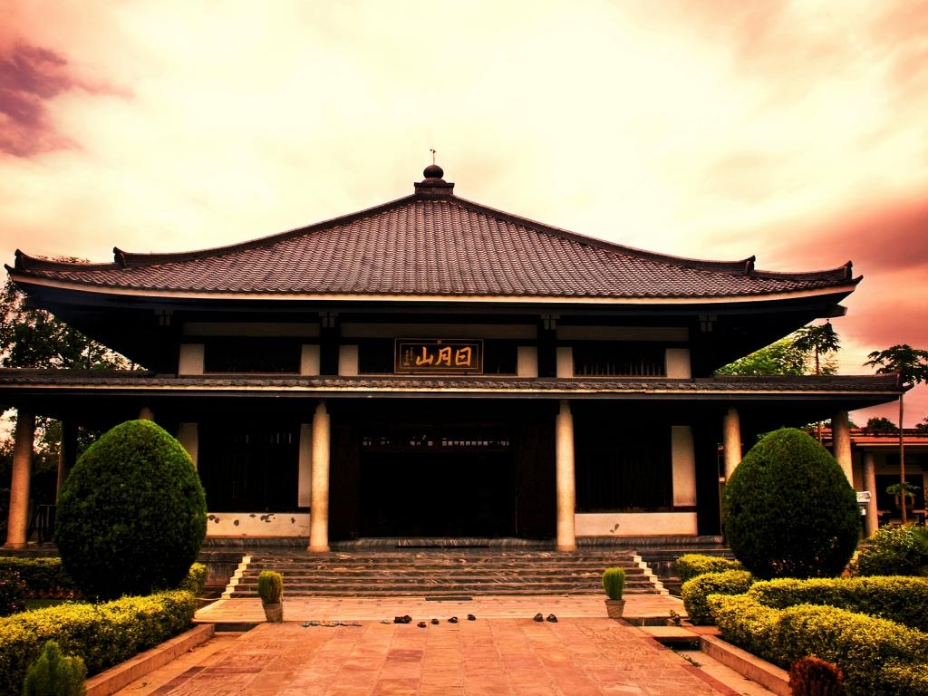 Modelo de casas de japon antiguas - 1024x768